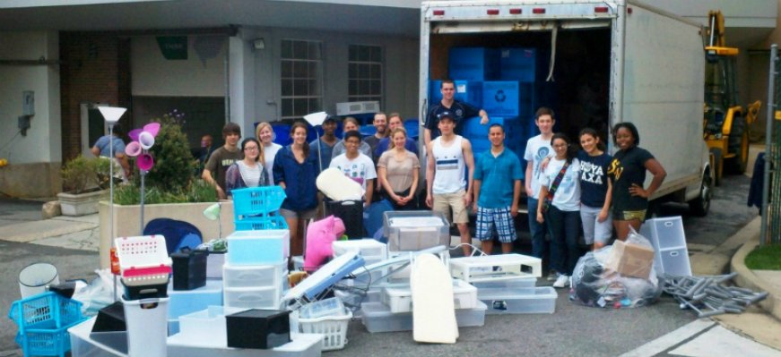 Cheers to Georgetown University Annual Student Move Out Drive