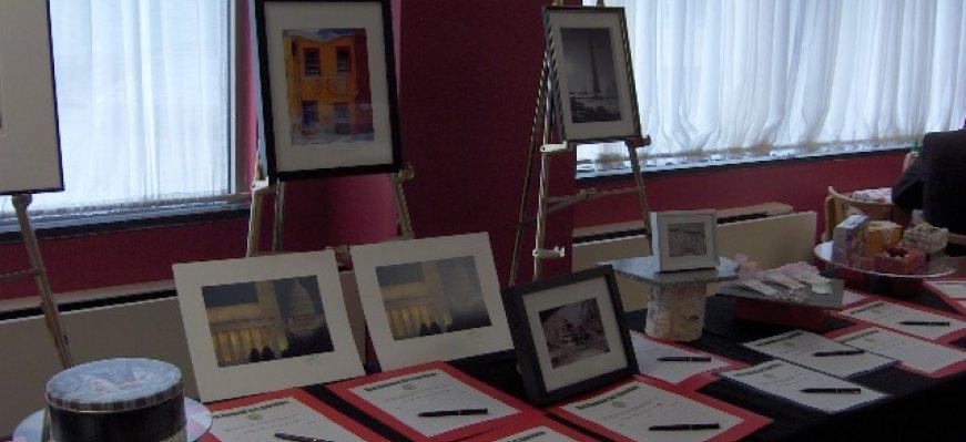 Fairmont Earth Art Auction