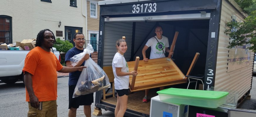 2018 Georgetown University Move Out Drive