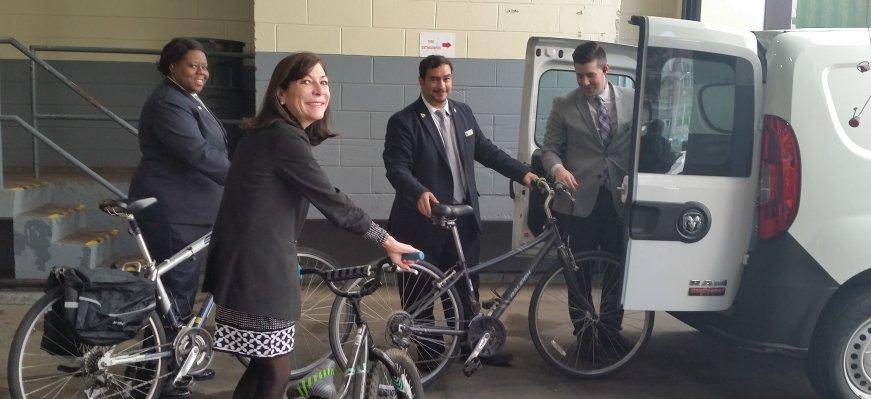 Fairmont Bike Donation
