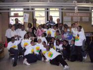 Students of Mary McLeod Bethune Host Mini-Walk