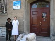 Partnering with Catholic Charities Refugee Center