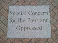 Special Concern for the Poor and Oppressed