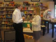 Booksigning brings friends together